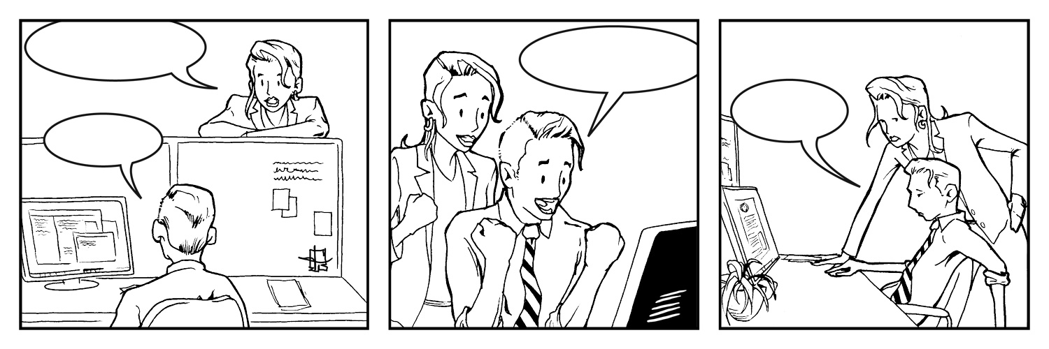 new comic… that's fill-in-the-blank!