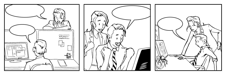 comic strip fill in